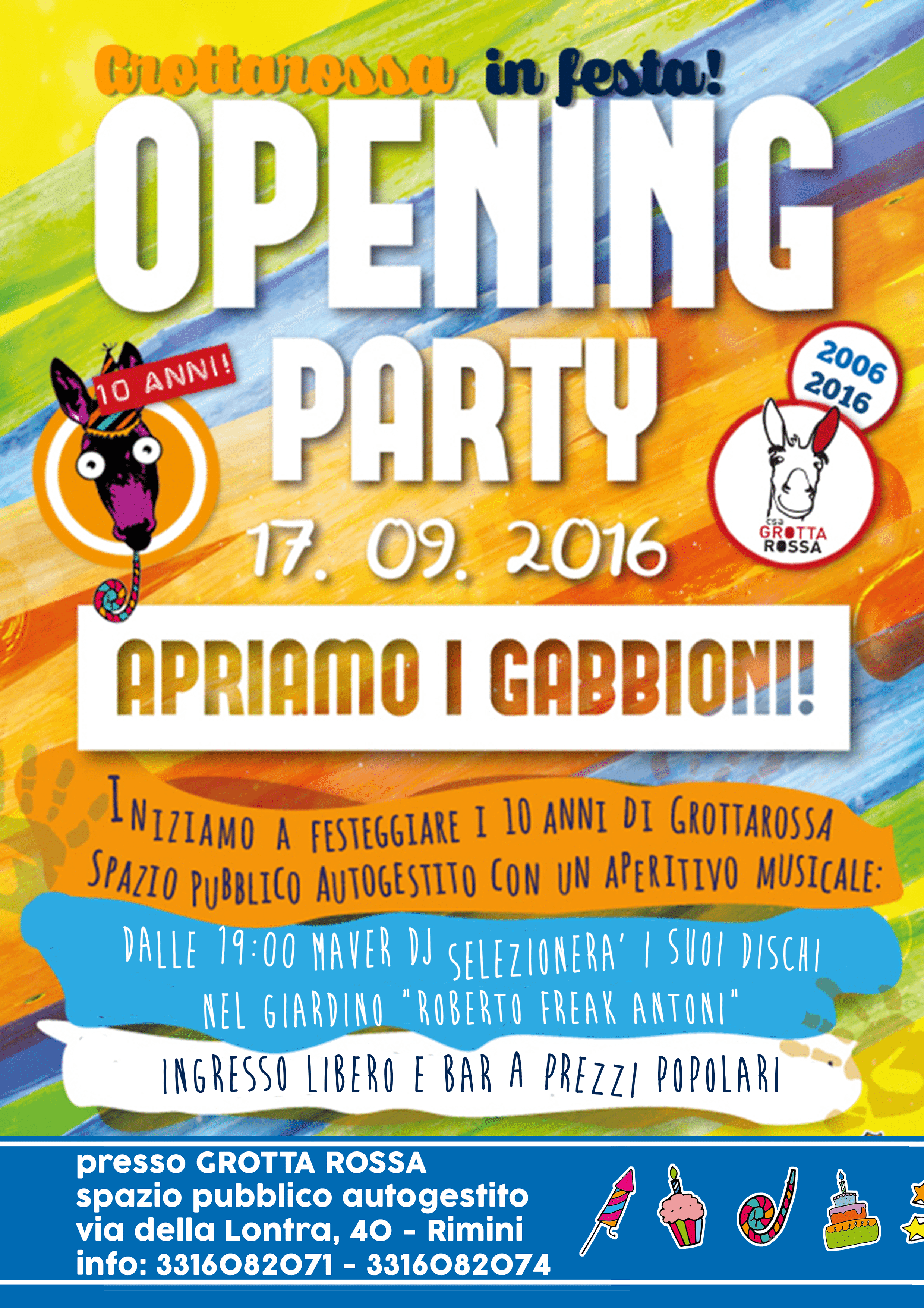Opening Party Grotta Rossa