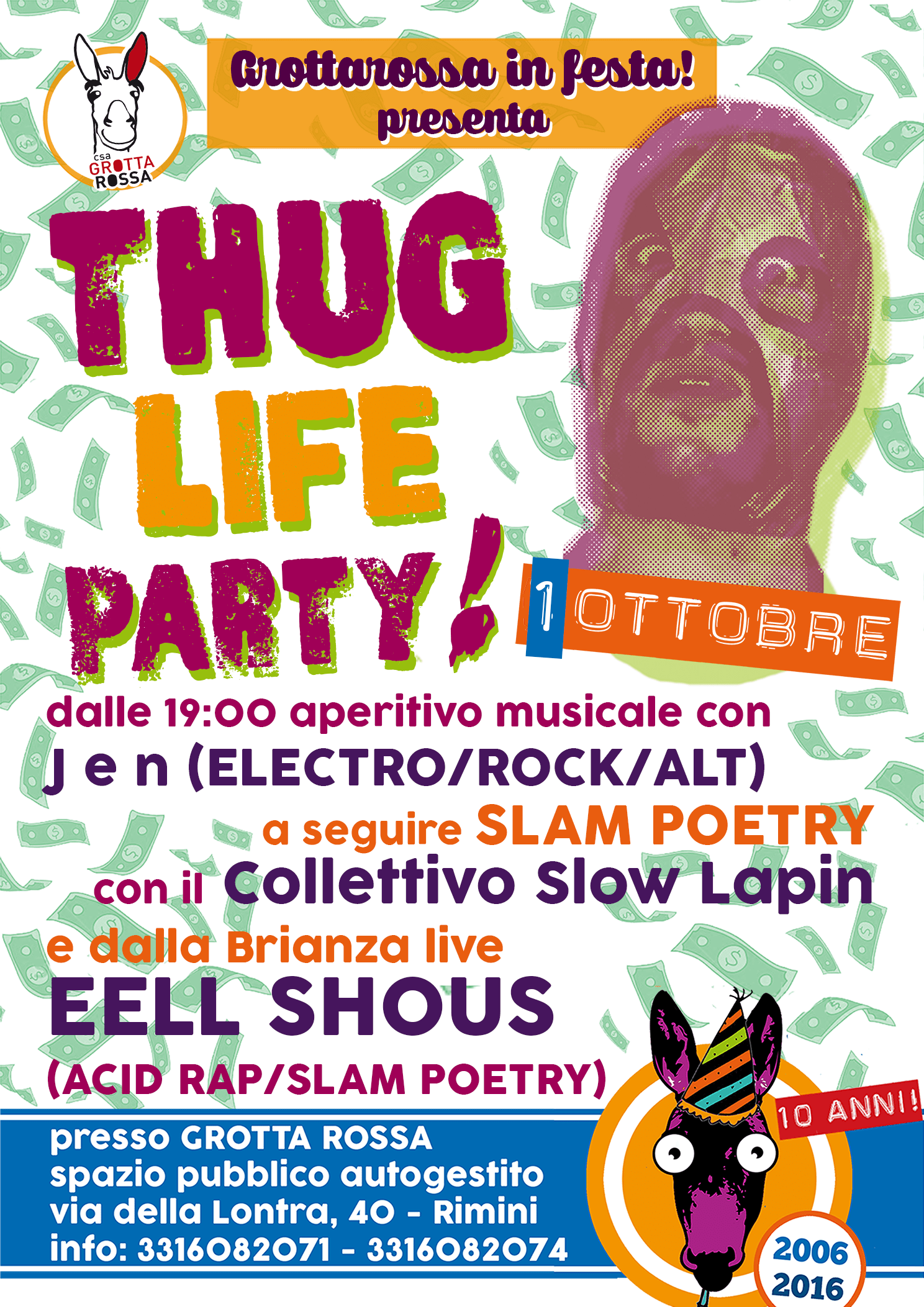 Thug Life Party // Eell Shous live