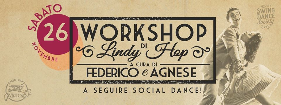 Lindy Hop workshop 26 novembre