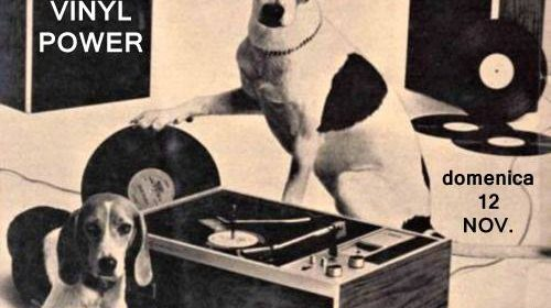 VINYL POWER – mercatino del disco + decks open