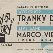 Lindy Factory – Workshop di Tranky Doo & Live Band!